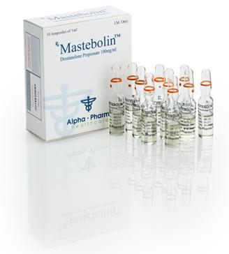Alpha pharma mastebolin 10 ampoules n.v. organon netherlands